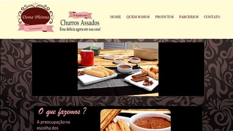 Exemplo de Site 03