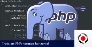 Traits em PHP herança horizontal