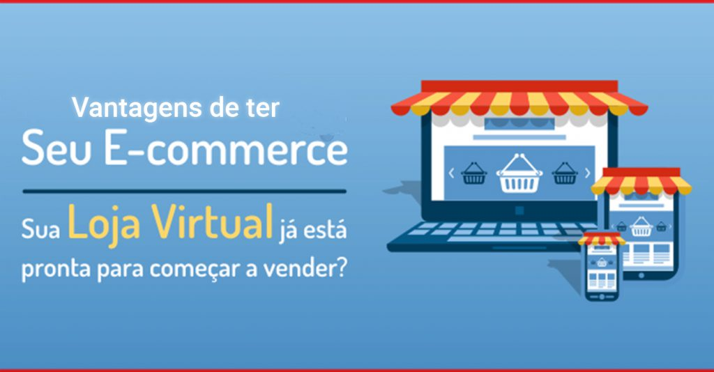 Loja virtual ou loja física